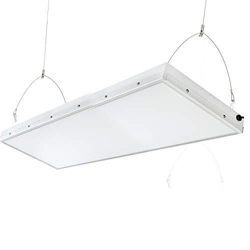 2FT Linear LED High Bay Light, 165W with 20000 Lumens,5500K Daylight White,500W-600W HPS Equivalent,Great High Bay LED Shop Lights for Warehouse Garage Commercial Lighitng (4ft 240Watt)