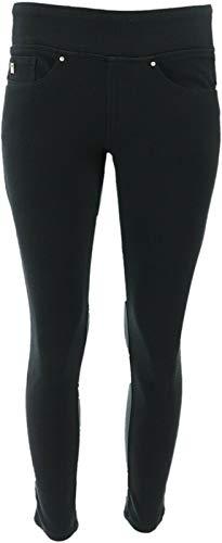 Belle Kim Gravel Flexibelle Petite Pull-On Knit Jeggings Black 18WP New A284898 from Belle by Kim Gravel