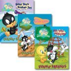 img - for Baby Looney Tunes Funny Friends Chunky Board Books 3-Pack book / textbook / text book