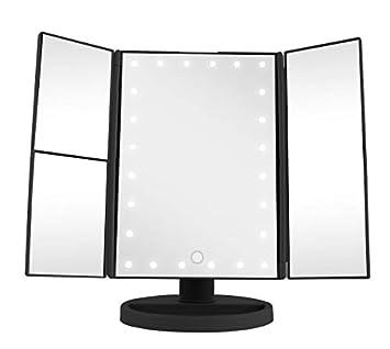 Amazon Com Vivitar Mr 1305 Blk Cordless Led Light Up Vanity