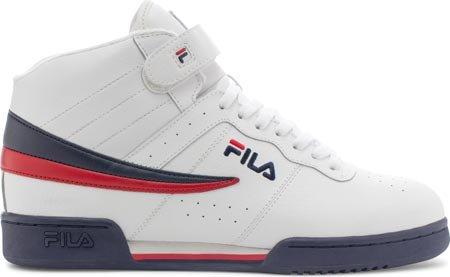 Fila Mens F-13 Sneaker Bianco / Fila Navy / Fila Rosso