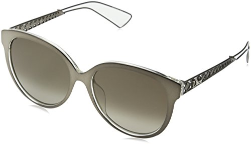Dior Women DIORAMA2 56 Grey/Brown Sunglasses - Diorama Sunglasses