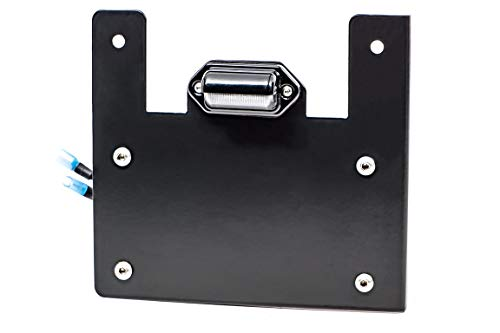 UTV INC Polaris General LED Lighted License Plate Frame Mount