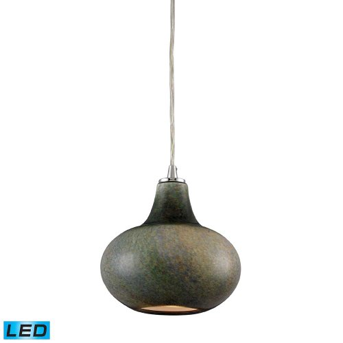 Elk Lighting 31144/1-LED Kaolin 1-LED Light Pendant with ...