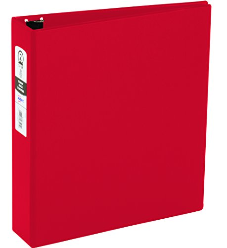 Avery Economy Binder, 2 Inch Round Ring, Red, 1 Binder (03510) (Ring Round 2)