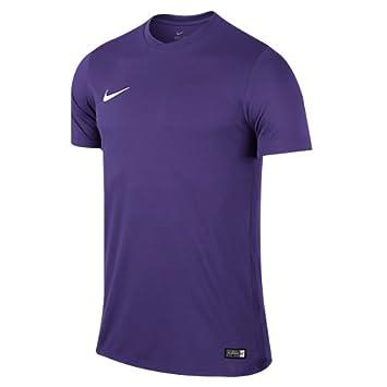 Nike SS YTH Park Vi JSY Camiseta, Niño, Morado (Court Purple/White