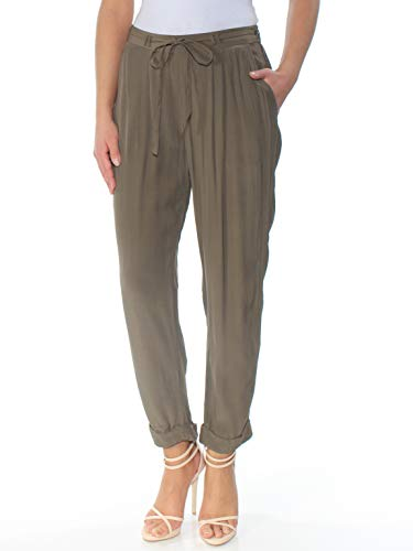 Lucky Denim Brand Trousers - Lucky Brand Women's Crepe Pants Olive Pants