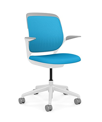 Delicieux Steelcase Cobi Office Chair: Arms With Soft Arm Caps   Standard Carpet  Casters