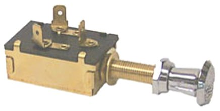Sierra MP39590 Heavy-Duty Push-Pull Switch - Off-On(1)-On(1&2) SPDT ()