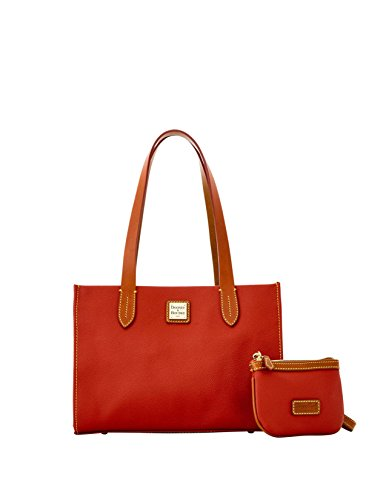 dooney-bourke-eva-small-shopper-with-med-wristlet-red