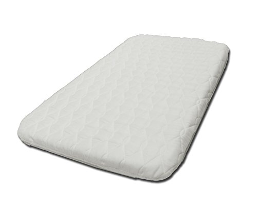 SUZY® Microfibre Hypoallergenic Crib Mattress 4cm Thick: Compatible With The Next To Me Crib British Made