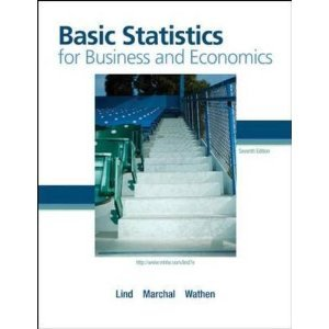 Basic Statistics for Business and Economic 7th (Seventh) Edition BYLind PDF