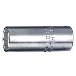 STAHLWILLE(スタビレー) 40DL-6 (1/4SQ)ディープソケット 12角 (0124 B075VMDBS7