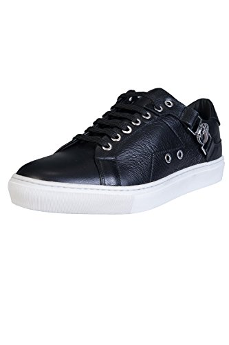 Collection Black Low Saddle Zapatillas Versace Top Hombre Negro qcPpWTdTn