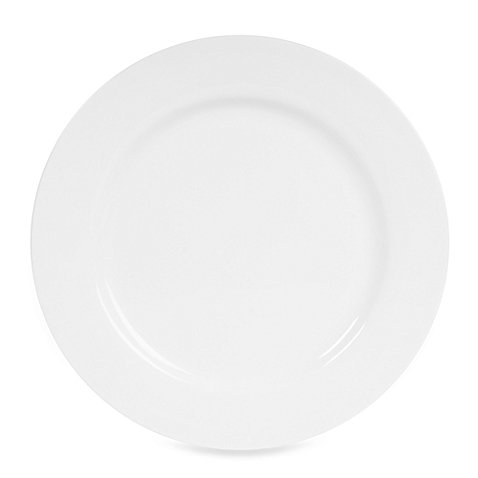 Nevaeh White by Fitz and Floyd Rim Dinner Plate