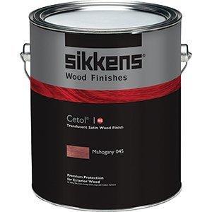 Sikkens SIK41045.01 1 Gallon Cetol 1 Re Exterior Wood Finish Translucent - Mahogany 045