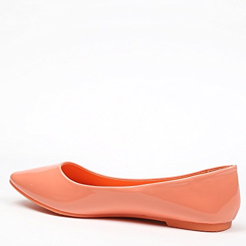 klassischen Patsy VERNIS Shoes Ideal Orange nbsp; nbsp;Ballerinas wPCaBxqI
