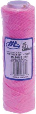 Marshalltown Trowel #16581 250' PNK Nylon Mason Line by Marshalltown Trowel