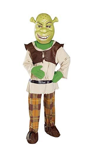 Shrek Child's Deluxe Costume And Mask, Shrek Costume ()