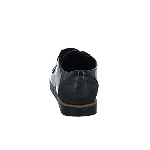 living Updated 2515-A5 Damen Slipper Halbschuh Casual Schwarz (Schwarz)