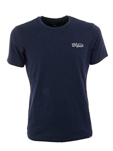 Cotone Uomo Woolrich Blu T Wotee11243731 shirt qW4EwICS