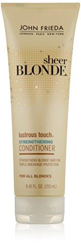 John Frieda U-Hc-6748 Sheer Blonde Lustrous Touch Strengthening Conditioner 8.45 Oz Conditioner U-HC-6748