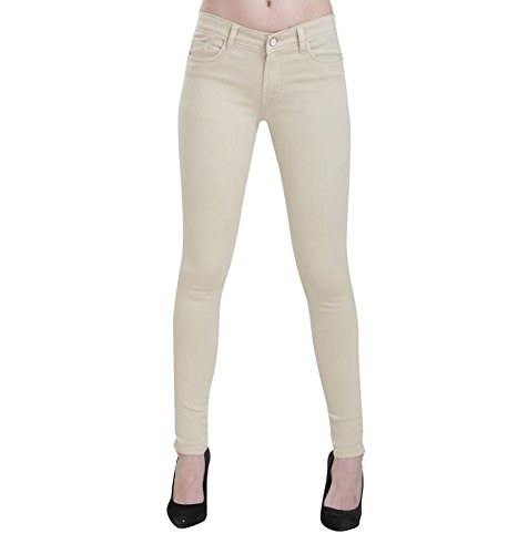 CHANNEL F Woman #39;s High Waist Ankle Length Jeans.