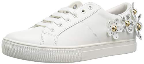 Daisy Studded Sneaker, White, 37 M US ()