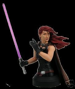 Star Wars Mara Jade Mini Bust Convention Exclusive
