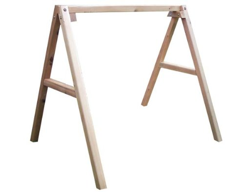 Fifthroom Red Cedar Porch Swing Stand for 4