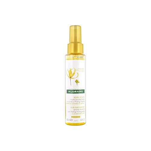 Klorane Protective Oil with Ylang-Ylang Wax, 3.3 Fl Oz