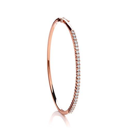 Or Rose 18ct Diamant 1.10CT Bracelet