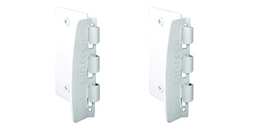Flip Lock (Prime-Line U 9888 Flip Action Steel Door Lock, White Finish (2 Pack))
