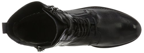 38 25103 Nero Caprice Stivali Donna Combat xXwHIvqpd
