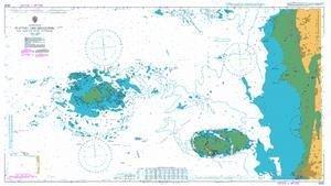 BA Chart 3656: Plateau des Minquiers and Adjacent Coast of France