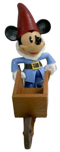 Design International Group LDG89198 Mickey Gnome with Cart (Disney Planter)