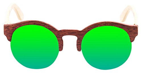 PALOALTO - Gafas de sol Meñakoz madera avellana, natural ...