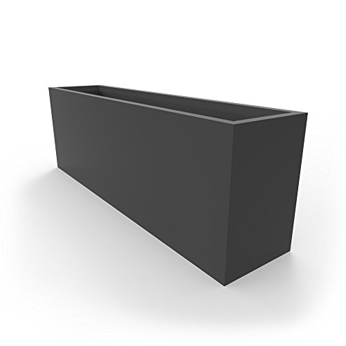 Fiberglass Garden Planter (Dividum Series Fiberglass Indoor, Outdoor Standing Planter, Tough & Durable, For Both Residential & Commercial Use)