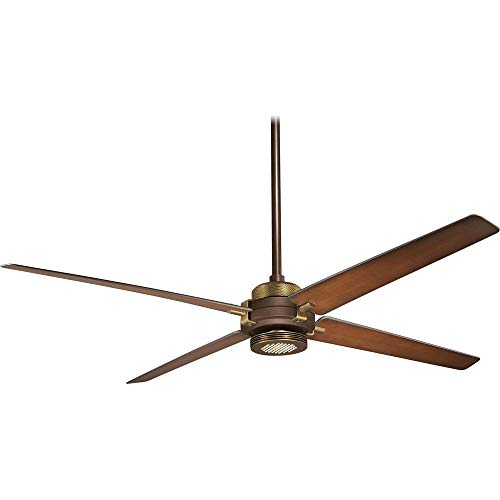 "Minka-Aire F726-ORB/AB, Spectre Oil-Rubbed Bronze 60"" Ceiling Fan w/Light & Remote Control"