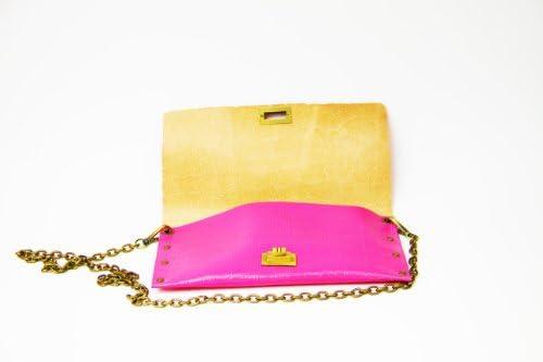HiveBag , Sac pour femme à porter à l'épaule rose 28x15x4