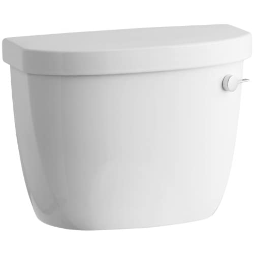 70%OFF KOHLER K-4421-RA-0 Cimarron 1.28 gpf Class Five High Efficiency Toilet Tank with Right-Hand Trip Lever, White