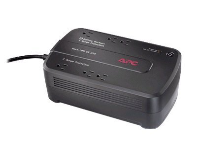 APC BACK-UPS ES 6 OUTLET 350VA 120V WITHOUT COMMUNICATION