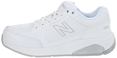 WW928 Health Walking Laced Shoe, White
