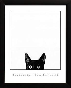 Curiosity Framed Art Print by Jon Bertelli, Finished Size 20×22, Image Size 18×20