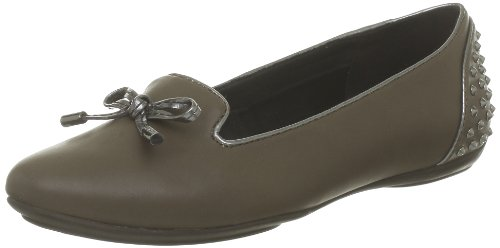 Taupe de Charlene mujer Geox holgazanes D FwT8ZS1q