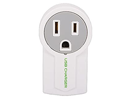 Cable Wall Outlet : Amazon.com: cable leader mini ac outlet wall tap with 1 port usb