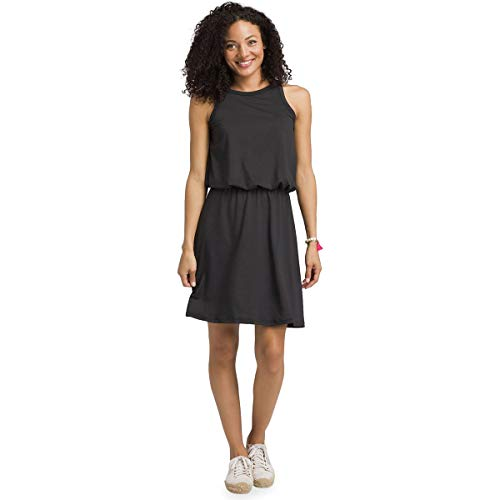 prAna Mandoline Dress Black SM