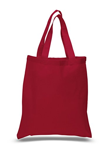 Set of 24 Blank Cotton Tote Bags Reusable 100% Cotton Reusable Tote Bags (2 dozen) Dozen Bag