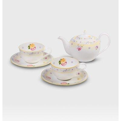 Jeune Fleur Teapot for Two Set (Noritake Tea Set)