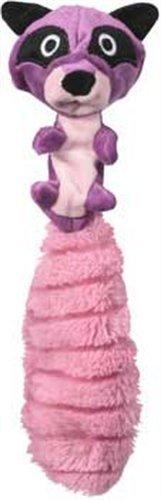 JW Pet Company Crackle Heads Ricky Raccoon Dog Toy, Medium, My Pet Supplies